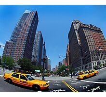 Fifth Avenue Taxi Photographic Print