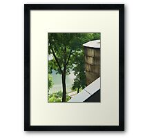 Just Around High Framed Print
