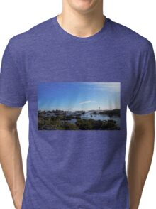Lonely Lighthouse Tri-blend T-Shirt