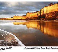 """Cliff Walk"",Anglesea,Great Ocean Road,Australia. by Darryl Fowler"