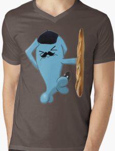 """Funny Pokémon """"Wobbuffet"""" Mens V-Neck T-Shirt"""
