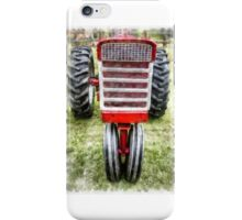 Vintage International Harvester Tractor iPhone Case/Skin