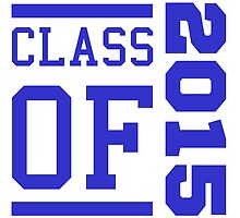 Class Of 2015 (Blue) by thepixelgarden