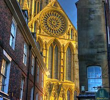 Rose Window - York Minster by Trevor Kersley