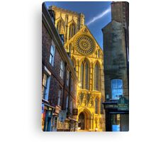 Rose Window - York Minster Canvas Print
