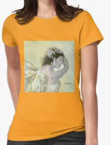 Angel (13) Womens Fitted T-Shirt