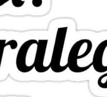 Best. Paralegal. Ever. Sticker
