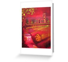 'Fountains Abbey' Greeting Card