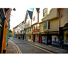 Low Petergate - York #2 Photographic Print