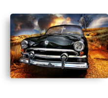 dirt road Canvas Print