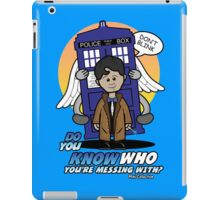 Don't Mess With The Doctor iPad Case/Skin