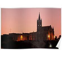 Church, Gozo, Malta. Poster