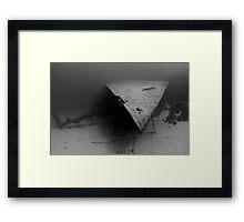 Shipwreck's Bow Framed Print