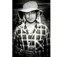 winery worker  Photographic Print
