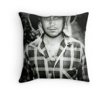 winery worker  Throw Pillow