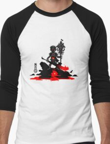 The Game of Kings, Wave Seven: The Black King's Pawn Men's Baseball ¾ T-Shirt