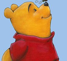 pooh in spring by angel7sin7