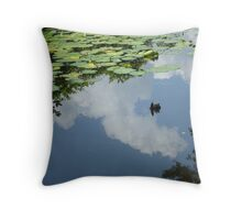 It's a lazy afternoon... Throw Pillow