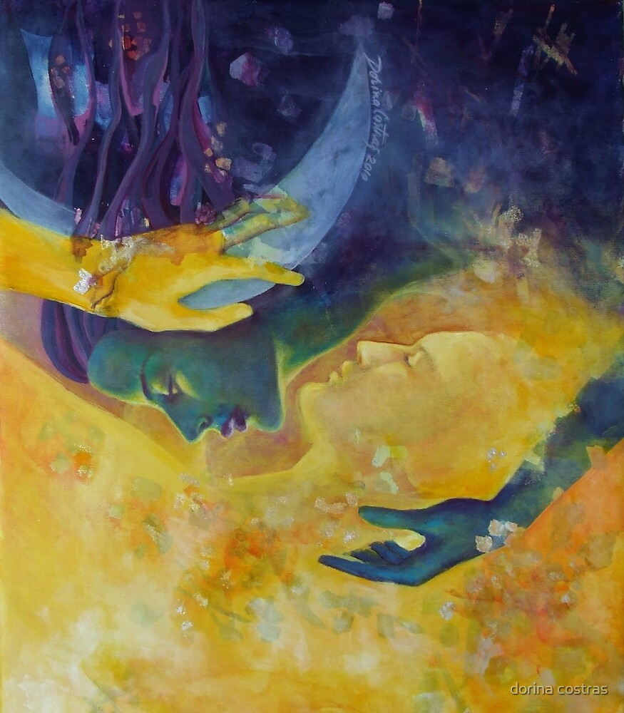 "The beginning of the end - from ""Impossible love"" series by dorina costras"