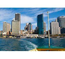 Circular Quay 1, Sydney Photographic Print