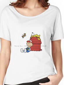 Charlie Brown Pokemon Master Women's Relaxed Fit T-Shirt