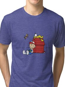 Charlie Brown Pokemon Master Tri-blend T-Shirt