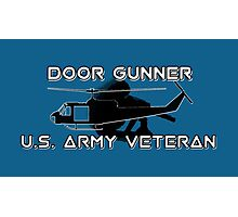 Door Gunner - Army Veteran Photographic Print