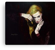 "MAGIE NOIR - from ""Hidden sight"" series Canvas Print"