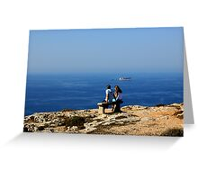Love In The Time Of Catholicism, Malta. Greeting Card