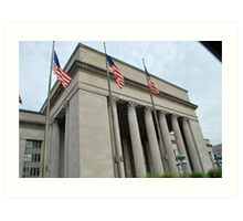 30th Street Station West  Art Print