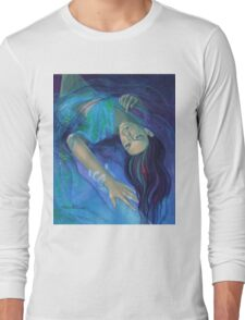 """""""Touching the ephemeral"""" - from """"Whispers"""" series Long Sleeve T-Shirt"""
