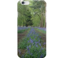 The bluebell highway iPhone Case/Skin