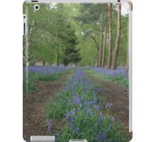 The bluebell highway iPad Case/Skin