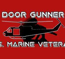 Door Gunner - U.S. Marine Veteran by Buckwhite