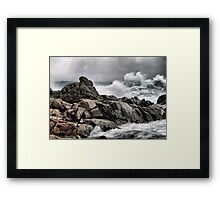 The Fury Of Nature Framed Print