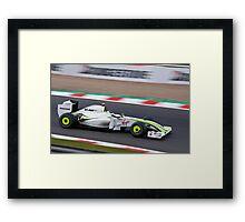 Jenson Flying Framed Print