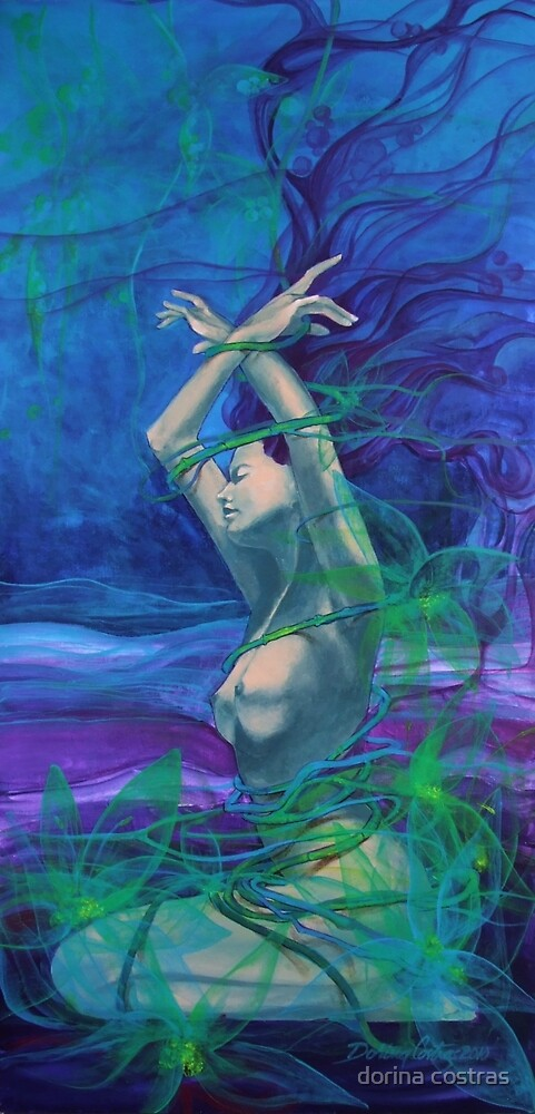 """Entangled in your love""  - from ""Whispers"" series by dorina costras"