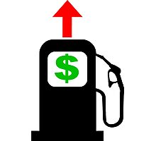 Rising Petrol Prices in the United States  Photographic Print