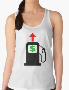 Rising Petrol Prices in the United States  Women's Tank Top