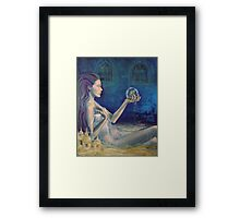 """Sandcastles""  from ""Whispers"" series Framed Print"