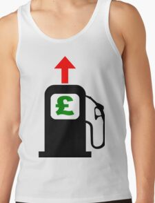 Rising Petrol Prices in the United Kingdom Tank Top