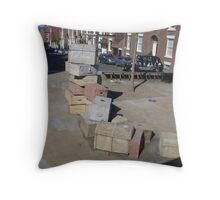 Packed to leave Throw Pillow