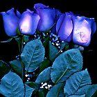BLUE ROSES by Daniel Sorine