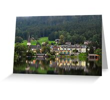 Altaussee Greeting Card