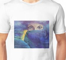 "...and the past it's just the beginning...from ""Impossible love"" series Unisex T-Shirt"