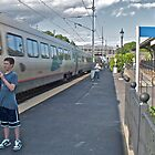 """Train Buffs"" - Acela Express by Kingston © 2009 AUG by Jack McCabe"