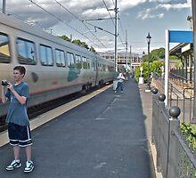 """Train Buffs"" - Acela Express by Kingston © 2009 AUG by Jack McCabe"