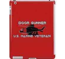 Door Gunner - U.S. Marine Veteran iPad Case/Skin