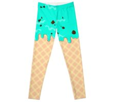 Ice Cream Chocolate Mint Leggings