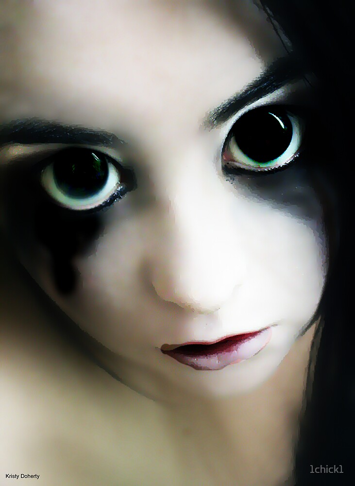 evil doll by 1chick1